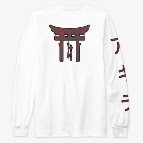 Shinto Ltd White T-Shirt Back