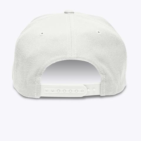 Cmw Cap (Black Embroidery) White T-Shirt Back