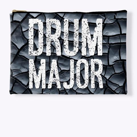 Drum Major   Black Crackle Collection Standard T-Shirt Front