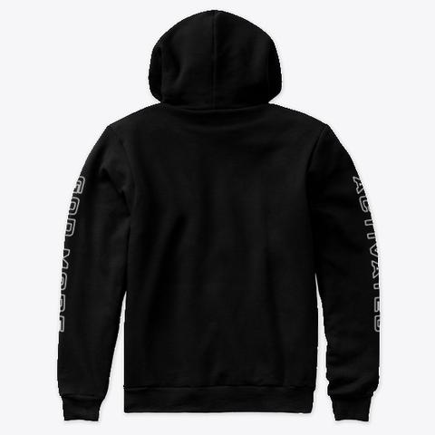 God Mode Activated Mission Hoodie Black T-Shirt Back