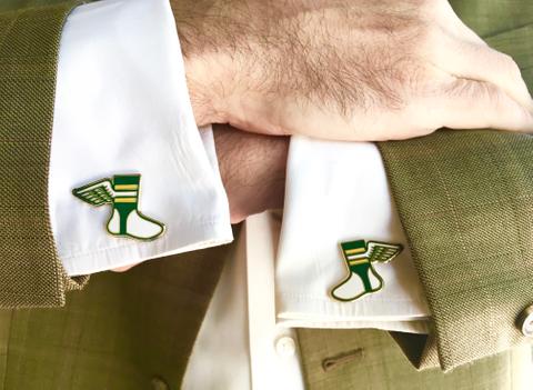Uni Watch: Cufflinks Standard T-Shirt Back