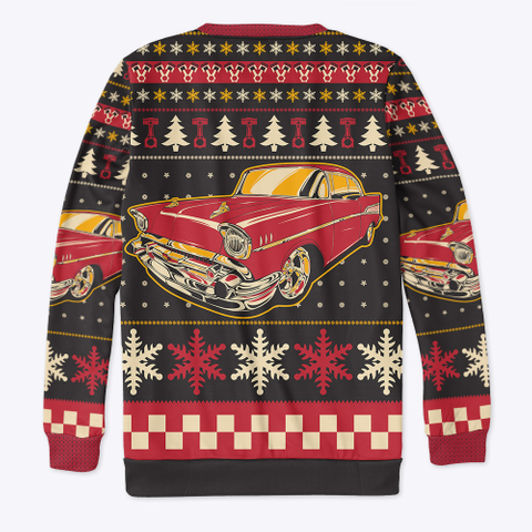 Classic 57 Ugly Christmas Standard T-Shirt Back