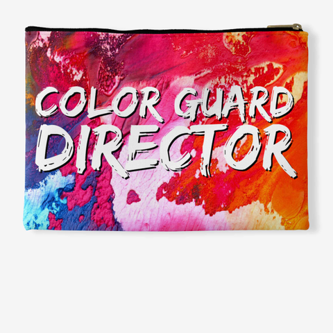 Color Guard Director Rainbow Collection Standard T-Shirt Back