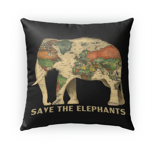 Save The Elephants Standard T-Shirt Front
