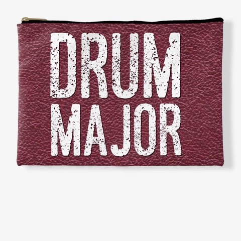 Drum Major   Maroon Collection Standard T-Shirt Front