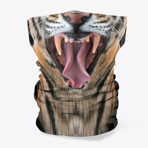 Big Cat Rescue Neck Gaiter Standard T-Shirt Front