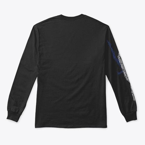Volleyball Jump Server Dutch Flag Black T-Shirt Back