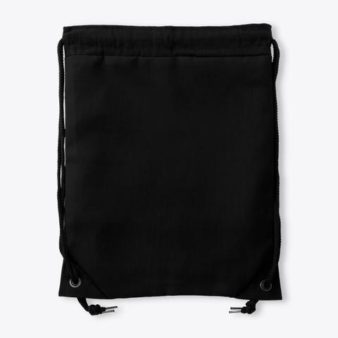 Drawstring Nash Black Standard T-Shirt Back