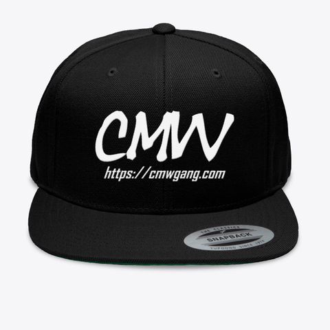 Cmw Black T-Shirt Front