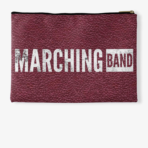Marching Band   Maroon Collection Standard T-Shirt Back