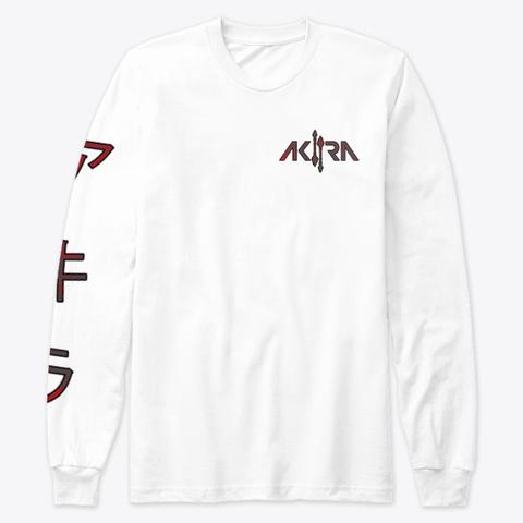 Akira White T-Shirt Front