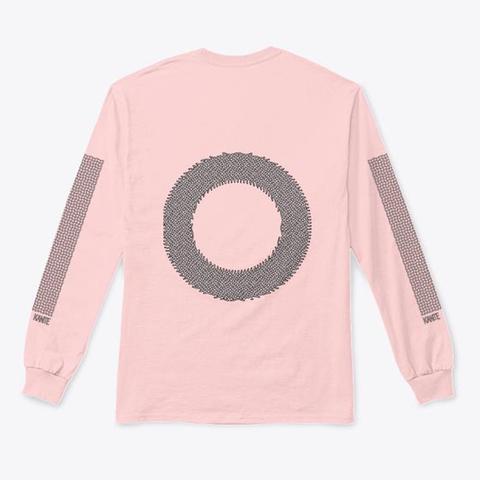 O Light Pink T-Shirt Back