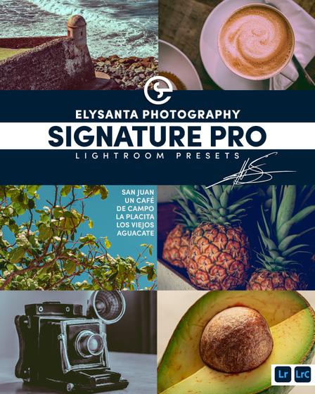Elysanta Signature Pro Lightroom Presets  T-Shirt Front