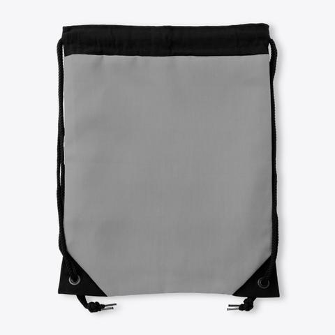 Drawstring Nash Grey Standard T-Shirt Back