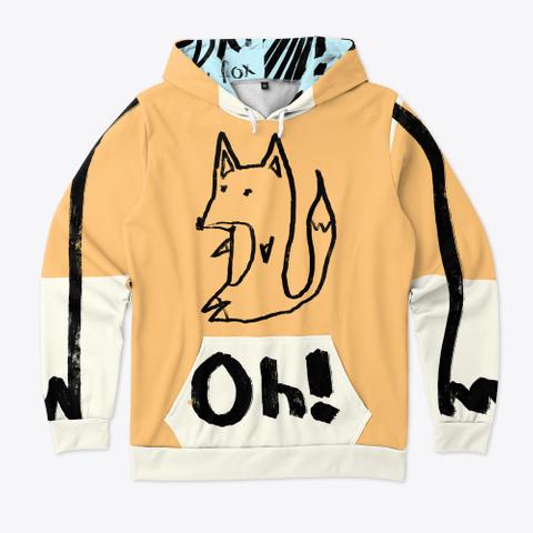 Fox Oh Standard T-Shirt Front