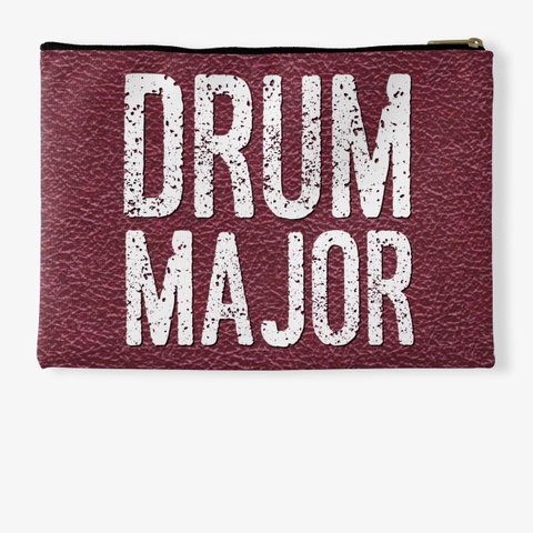 Drum Major   Maroon Collection Standard T-Shirt Back