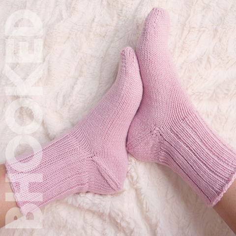 Your First Pair Of Knit Socks Pdf  T-Shirt Front