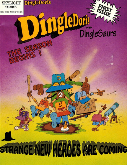 The Dingle Dorfs In The Season Begins  T-Shirt Front