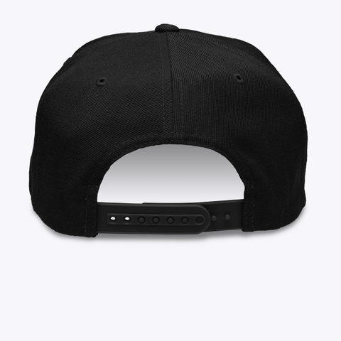 Cmw Cap (White Embroidery) Black T-Shirt Back