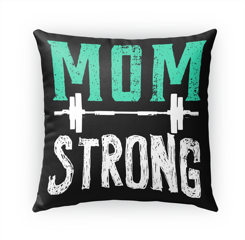 Mom Strong Limited Edition  White T-Shirt Front