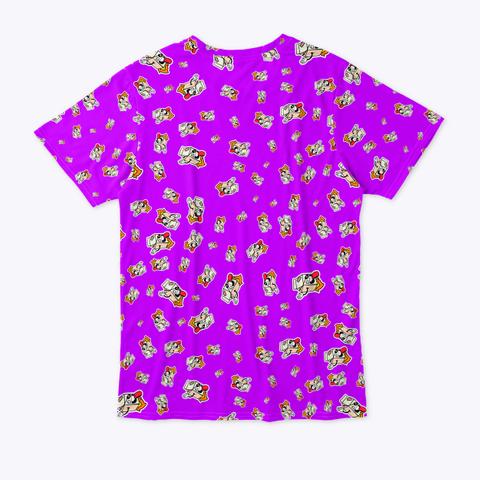 🏁 Patrón De Logos   Calidad ⭐⭐⭐⭐⭐ Standard Camiseta Back