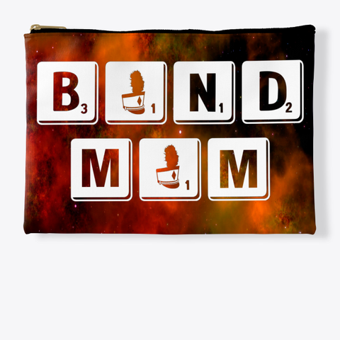 Band Mom Scrabble   Universe Collection Standard T-Shirt Front