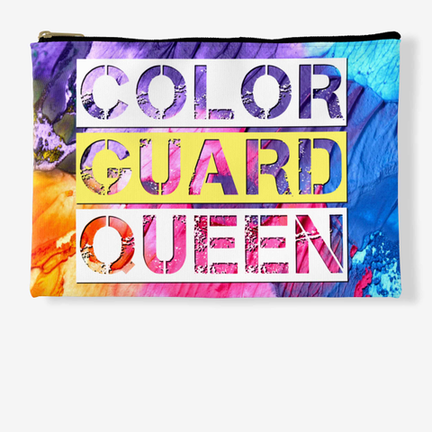 Color Guard Queen   Rainbow Collection Standard T-Shirt Front
