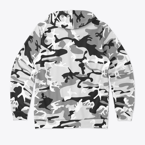 Bass Savage Mr.White Camo Hoodie! Standard T-Shirt Back