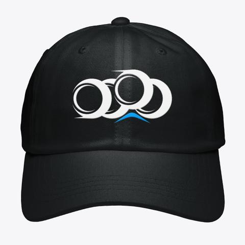 Not A Wheelchair Black Hat Black T-Shirt Front
