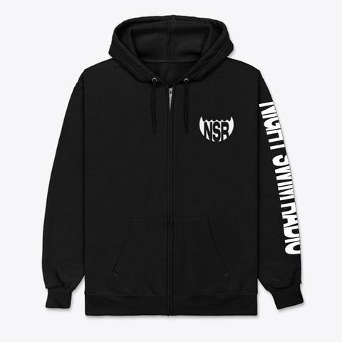 Night Swim E Sports Black T-Shirt Front