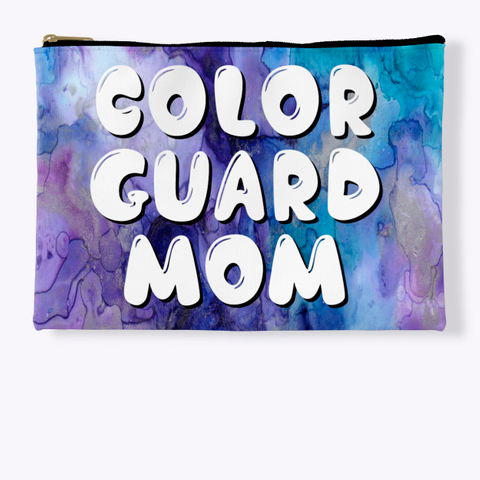 Color Guard Mom   Purple Collection Standard T-Shirt Front