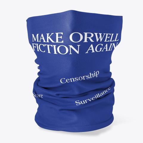 Make Orwell Fiction Again Censorship Score Surveillance Standard T-Shirt Front