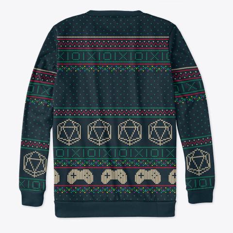 The Merry Oxmas Christmas Sweatshirt Standard T-Shirt Back
