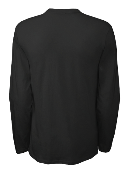 Official Delta Heavy Triangle Long Sleeve   Us Black Long Sleeve T-Shirt Back