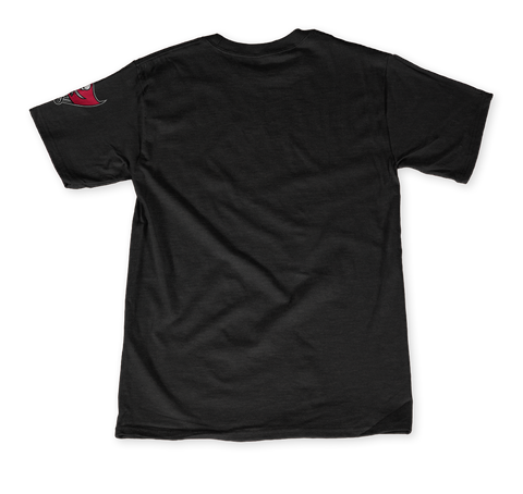 Underoath X Tampa Buccaneers: My Team My City Black T-Shirt Back