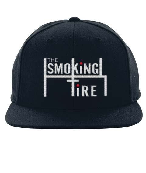 The Smoking Tire Black Hat Front