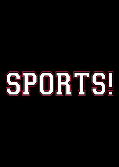 Sports! New Navy T-Shirt Back