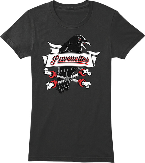 Help The Ravenettes Soar! Black Women's T-Shirt Front