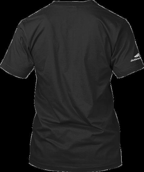 Achievement Quest Launch Tee Black T-Shirt Back