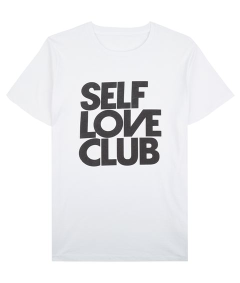 Self Love Club Arctic White T-Shirt Front