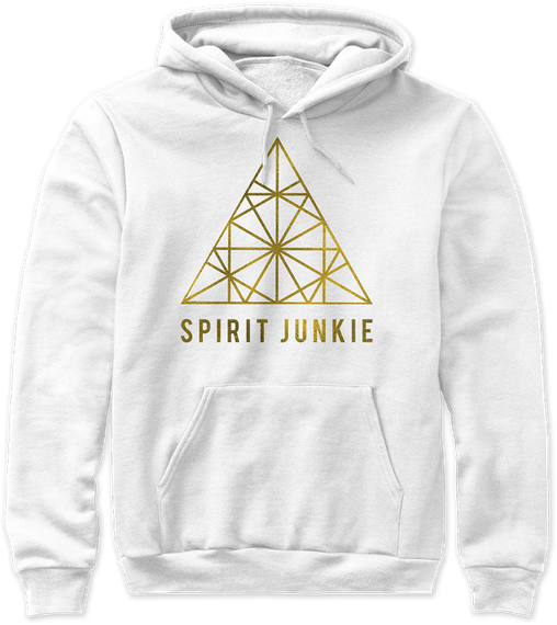 Spirit Junkie  Sweatshirt Front