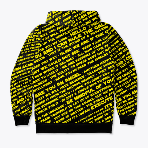 Meme Lord Hoodie (All Over Print) Standard T-Shirt Back