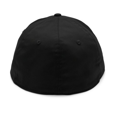 American Flag Flexfit Hat Black Hat Back