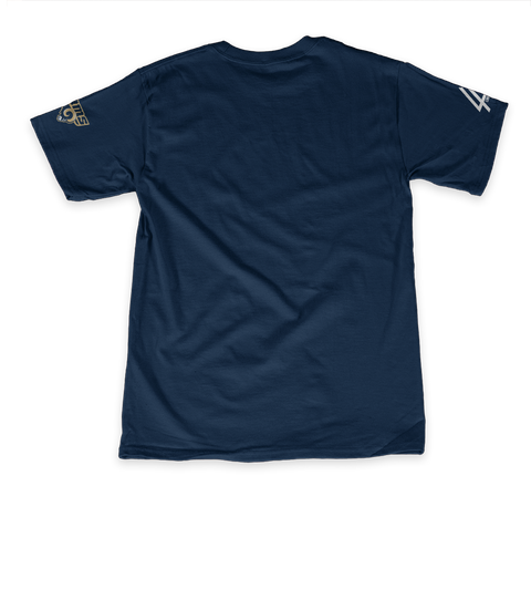 Linkin Park X La Rams: My Team My City Team Navy T-Shirt Back