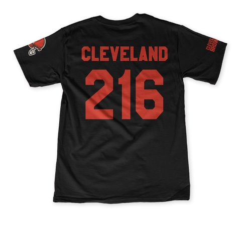 Bone Thugs Cleveland 216 Black T-Shirt Back