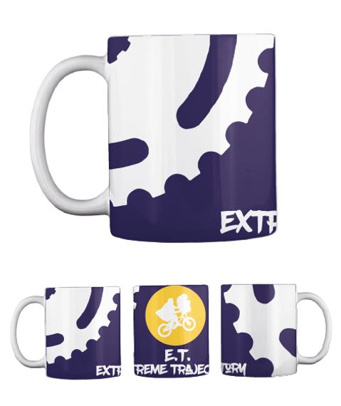 Ext Et Extreme Trajectory Dark Navy Mug Back