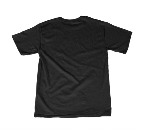 Ravens B R Black T-Shirt Back