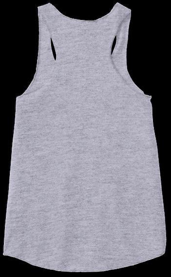 "Official Megan Nicole ""Mascara"" Shirts Athletic Grey Women's Tank Top Back"
