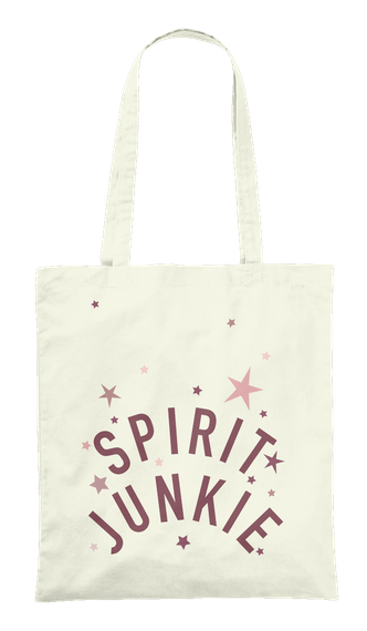 Spirit Junkie Natural Tote Bag Front