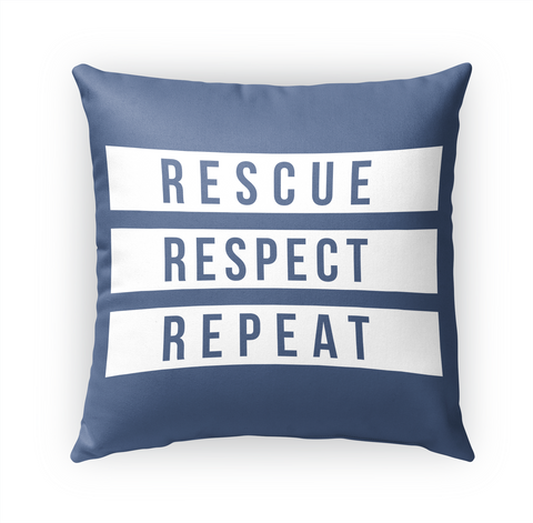 Rescue Respect Repeat Standard T-Shirt Front